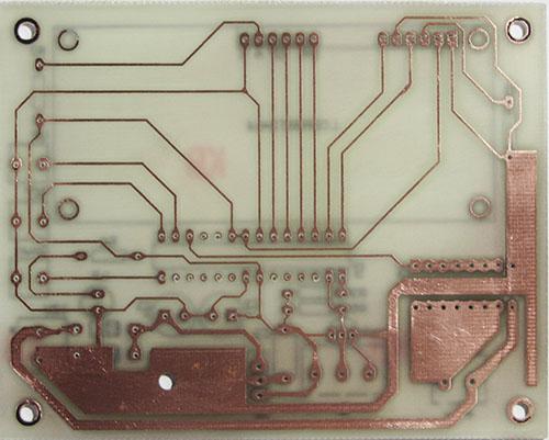 PCB کنترل دور فن یا موتور توسط سنسور دما
